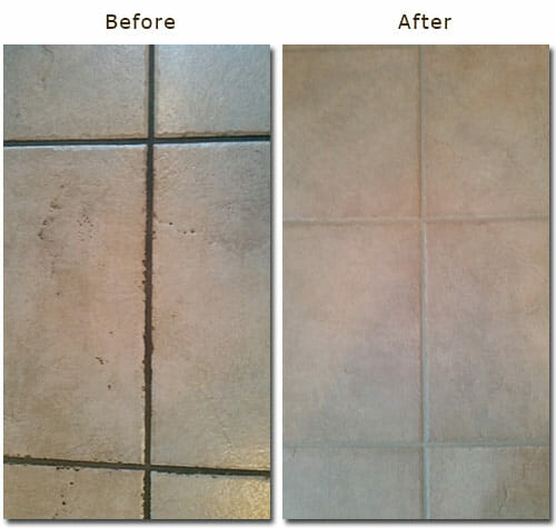 professional tile and grout cleaning services by Hygea
