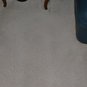 dry carpet cleaning - coffee stain after