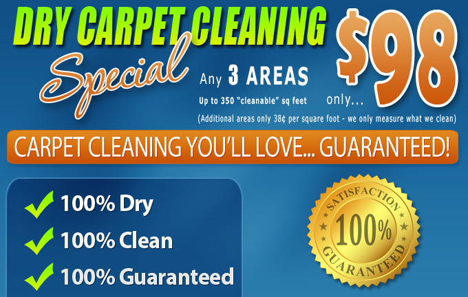 Dry Carpet Cleaning - Carpet Cleaning Special